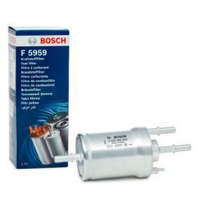 F5959 BOSCH Ledningsfilter H: 164mm Bränslefilter 0 450 905 959 köp lågt pris