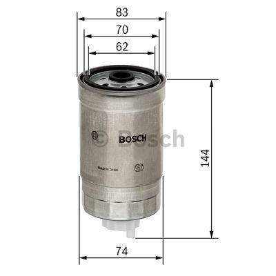 1457434516 Brændstoffilter BOSCH - Køb til discount priser