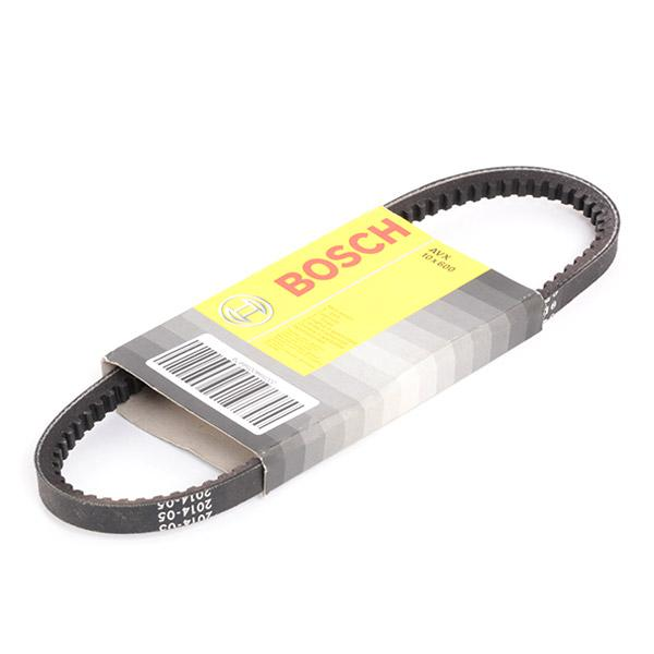 Volkswagen GOL 2019 Belts, chains, rollers BOSCH 1 987 947 627: Width: 10mm, Length: 600mm