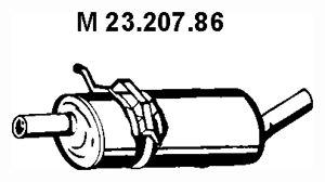 MERCEDES-BENZ A-Klasse 2010 Auspuff Mitteltopf - Original VEGAZ MS-421