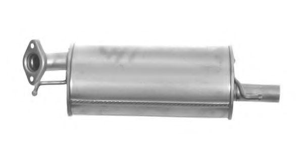 VEGAZ: Original Endschalldämpfer SZS-73 (Länge: 690mm, Länge: 690mm)