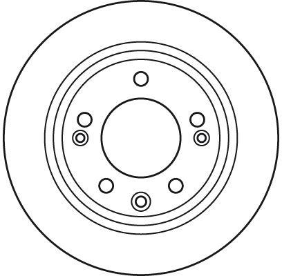 DF6123 Féktárcsa TRW - Tapasztalja meg engedményes árainkat