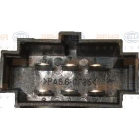 Regulador, ventilador habitáculo 5HL 351 321-281 de (desde) HELLA
