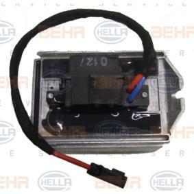HELLA | Regulador, ventilador habitáculo 5HL 351 321-281