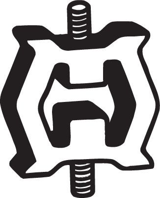 Gummistreifen, Abgasanlage BMW E12 1974 - BOSAL 255-125 ()