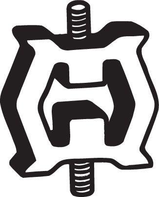 Gummistreifen, Abgasanlage BMW F10 2012 - BOSAL 255-125 ()