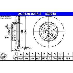 24.0130-0218.2 Stabdžių diskas ATE - Sumažintų kainų patirtis