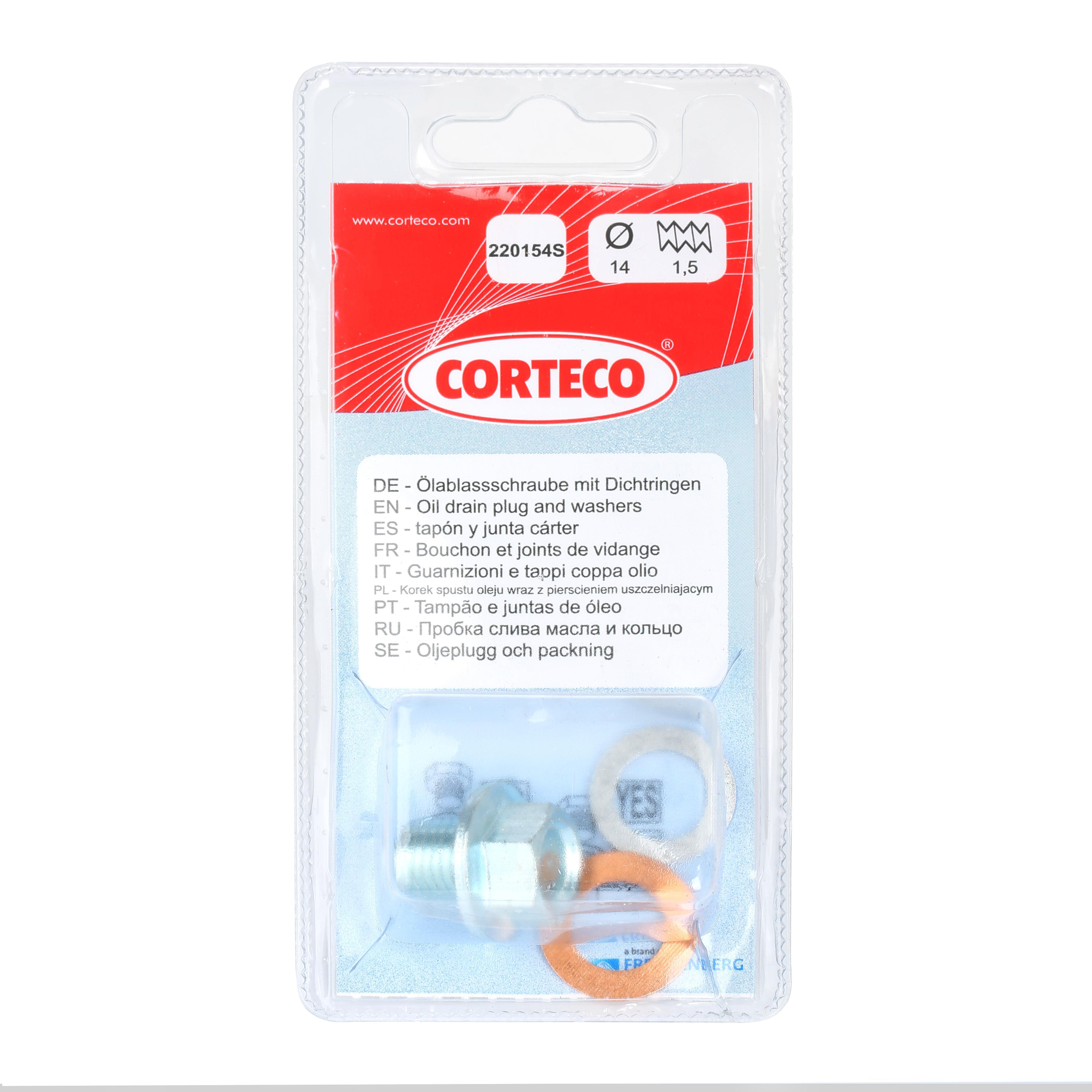 CORTECO: Original Ablassschraube Öl 220154S ()