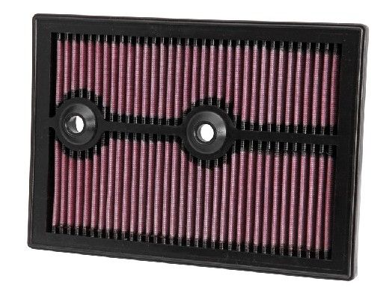 K&N Filters: Original Luftfilter 33-3004 (Länge: 265mm, Länge: 265mm, Breite: 187mm, Höhe: 25mm)
