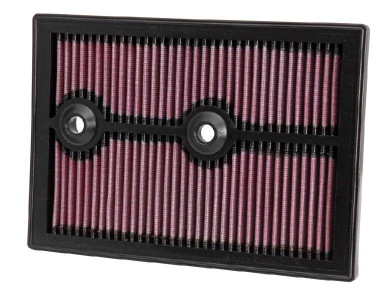 Køb 33-3004 K&N Filters Langtidsfilter Länge: 265mm, Breite: 187mm, Höhe: 25mm Luftfilter 33-3004 billige