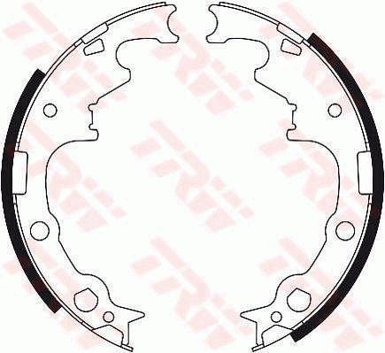 Original DODGE Bremsbacken für Trommelbremse GS8413