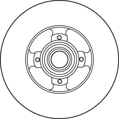 DF6128BS Disque de frein TRW - L'expérience aux meilleurs prix