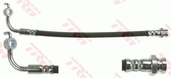 MAZDA MX-5 2017 Rohre - Original TRW PHD1088 Länge: 285mm, Gewindemaß 1: M10x1, Gewindemaß 2: Banjo