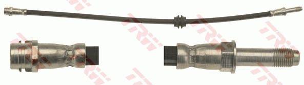 MERCEDES-BENZ VIANO 2019 Bremsschlauch - Original TRW PHB647 Länge: 545mm, Gewindemaß 1: M10x1, Gewindemaß 2: M10x1