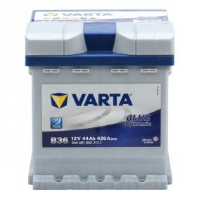 B36 VARTA BLUE dynamic Batterikapacitet: 44Ah Köldstartström EN: 420A, Spänning: 12V, Polställning: 0 Batteri 5444010423132 köp lågt pris