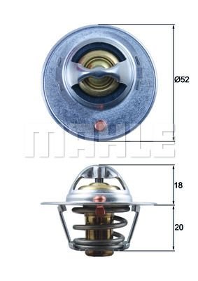 TX 15 84D BEHR THERMOT-TRONIK Thermostat, Kühlmittel - online einkaufen