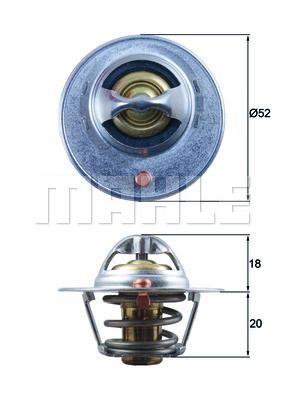 TX 15 84D BEHR THERMOT-TRONIK Termóstato, líquido de refrigeração - compre online