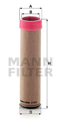NFZ Sekundärluftfilter von MANN-FILTER CF 850/2 bestellen
