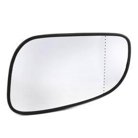 rechts für Linkslenker 6432786 Spiegelglas für Außenspiegel ALKAR