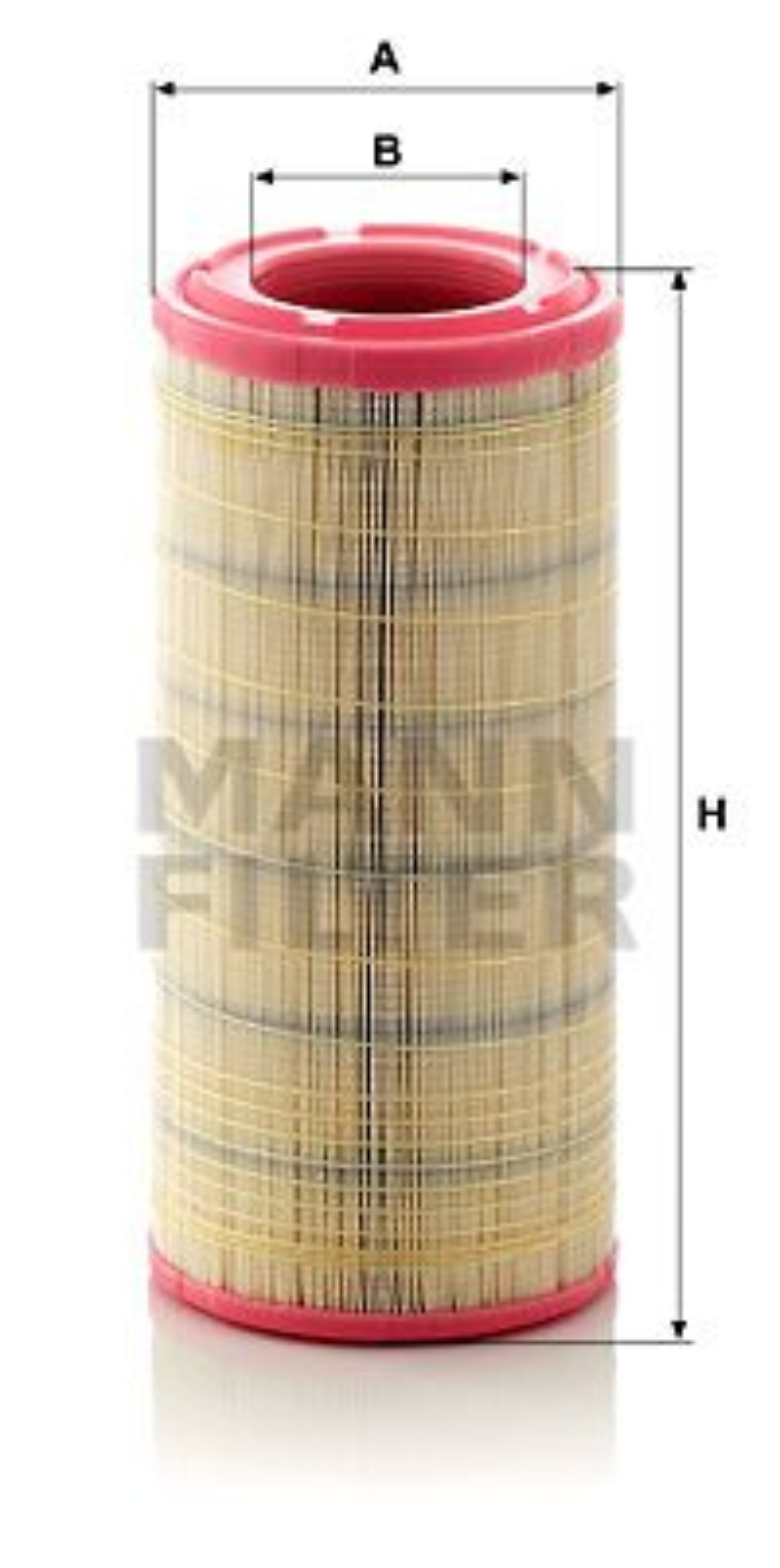 C 17 337/2 Luftfilter MANN-FILTER Test