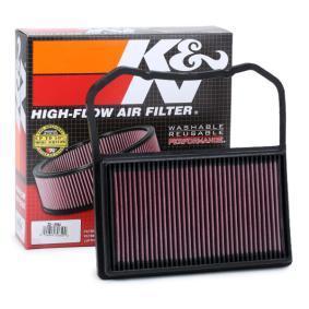 33-2994 K&N Filters Långtidsfilter L: 297mm, B: 281mm, H: 31mm Luftfilter 33-2994 köp lågt pris