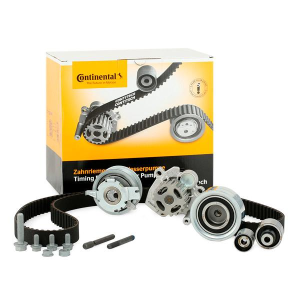 Ricambi VW TIGUAN 2013: Kit cinghia distribuzione, pompa acqua CONTITECH CT1139WP6 a prezzo basso — acquista ora!