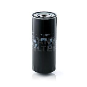 Comprar Filtro de aceite de MANN-FILTER W 11 102/37 a precio moderado