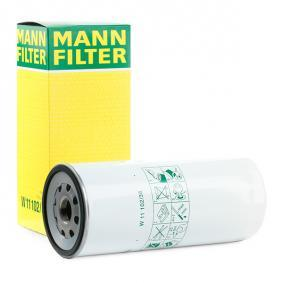 MANN-FILTER Oljefilter W 11 102/36 - köp med 25% rabatt