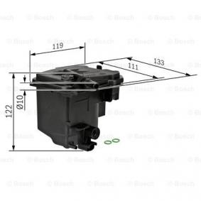 0450907006 Fuel filter BOSCH - Experience and discount prices
