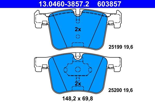13.0460-3857.2 Bremsbelagsatz ATE - Markenprodukte billig