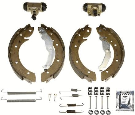 Original BMW Bremsbacken für Trommelbremse BK1553
