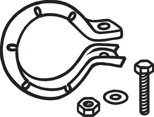 Halter, Abgasanlage BOSAL 250-003