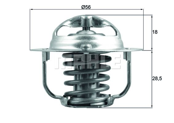 Thermostaat, koelvloeistof BEHR THERMOT-TRONIK TX 29 85D Beoordelingen