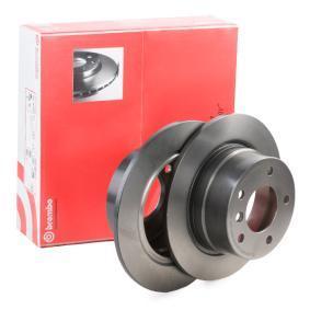 08.6853.81 BREMBO COATED DISC LINE Voll, beschichtet, hochgekohlt, mit Schrauben Ø: 272mm, Lochanzahl: 5, Bremsscheibendicke: 10mm Bremsscheibe 08.6853.81 günstig kaufen