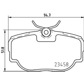 Intérieur Ventilateur Behr Hella Service 5 HL 351 321-301 *** Premium Line *** régulateur