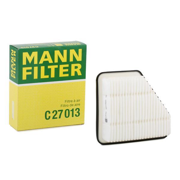 Zracni filter C 27 013 z izjemnim razmerjem med MANN-FILTER ceno in zmogljivostjo