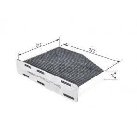 1 987 432 597 Filter, Innenraumluft BOSCH - Markenprodukte billig