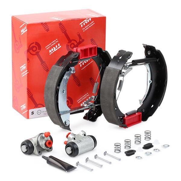 GSK1058 Kit de freins, freins à tambours TRW - Produits de marque bon marché