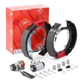 Achat de GSK1058 TRW avec cylindre de roue, Superkit Kit de freins, freins à tambours GSK1058 pas chères