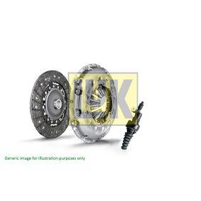 621 3014 22 LuK RepSet Pro mit Kupplungsnehmerzylinder, mit Sicherungsring, mit Ausrückteller, mit Sicherungsschraubensatz Ø: 210mm Kupplungssatz 621 3014 22 günstig kaufen