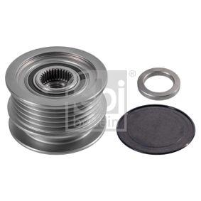 26458 FEBI BILSTEIN Aluminium, Ø: 76,4mm, Ø: 58,0mm Generatorfreilauf 26458 günstig kaufen