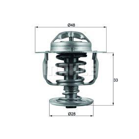 Thermostat, Kühlmittel BEHR THERMOT-TRONIK TX 23 79D mit 34% Rabatt kaufen