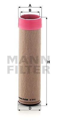 OE Original Sekundärluftfilter CF 97/2 MANN-FILTER