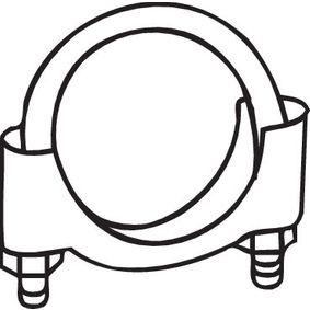 250-250 BOSAL Ø: 50mm Klemmstück, Abgasanlage 250-250