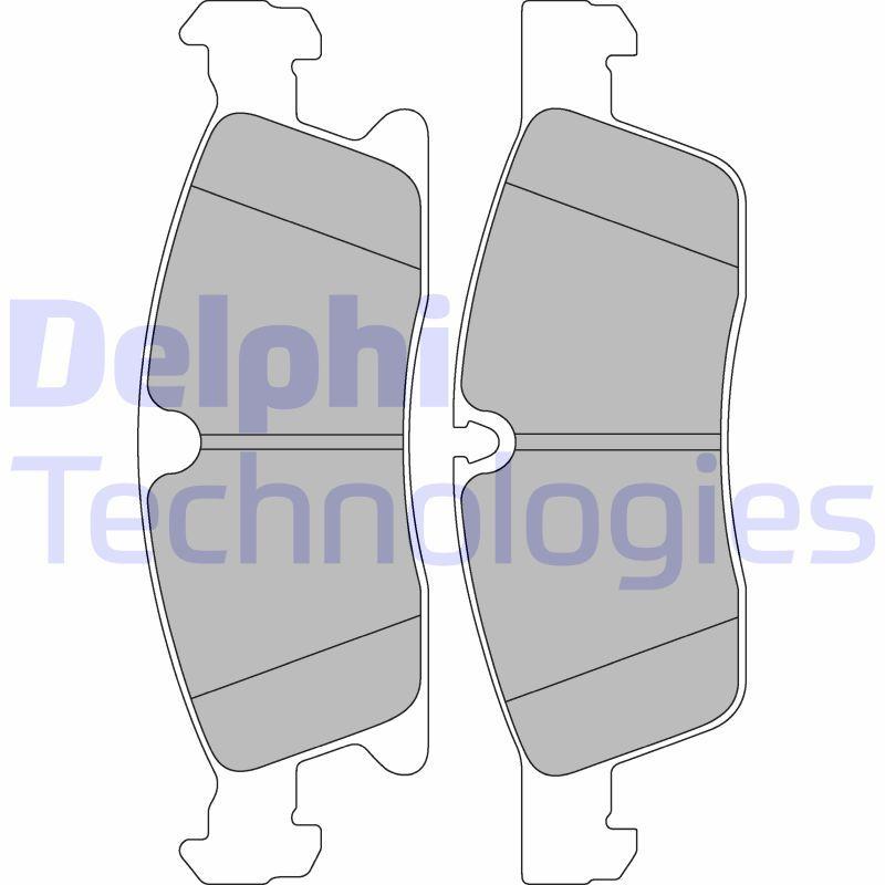 D16298856 DELPHI nicht für Verschleißwarnanzeiger vorbereitet, ohne integrierten Verschleißsensor Höhe 2: 64mm, Höhe: 64mm, Dicke/Stärke 1: 21mm, Dicke/Stärke 2: 21mm Bremsbelagsatz, Scheibenbremse LP2298 günstig kaufen