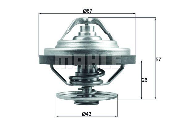 TX3087D Termostat Kylvätska BEHR THERMOT-TRONIK - Upplev rabatterade priser