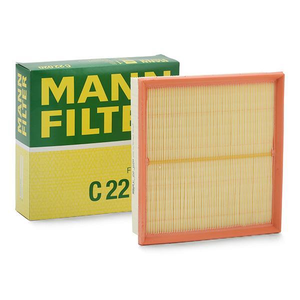 MANN-FILTER LUFTFILTER C 22 020 MERCEDES BENZ A KLASSE B KLASSE