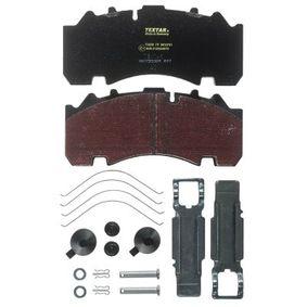 Bremsbelagsatz, Scheibenbremse TEXTAR 2930701 mit 18% Rabatt kaufen