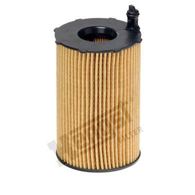 PORSCHE MACAN 2019 Motorölfilter - Original HENGST FILTER E816H D236 Innendurchmesser 2: 29mm, Innendurchmesser 2: 29mm, Ø: 76mm, Höhe: 128mm