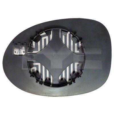 Spiegelglas Außenspiegel TYC 328-0170-1